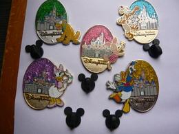 5 Big Pin S Disney Disneyland 4 X 3,5 Cm Neuf - Disney