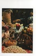 "Carte Postale N° 6584 ,  Port Au Prince "" Scène De Marché "" , Neuve - Haïti"