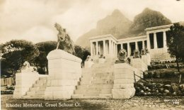 SOUTH AFRICA - RPPC - Rhodes Memorial Groot Schuur Ct. - South Africa