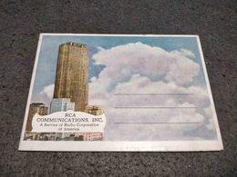 RARE ANTIQUE CARNET OF POSTCARDS RCA COMMUNICATIONS INC.  NEW YORK - NY - New York