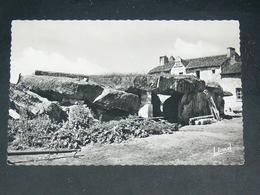 LES TROIS MOUTIERS     1950   /   MENHIR / DOLMEN  .........  EDITEUR - Les Trois Moutiers