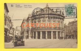 CPA  ANVERS Théâtre Français ( Vieille Auto ) - Antwerpen