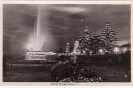 Marine Parade At Night, Napier, New Zealand Vintage PC/Real Photo Unused - New Zealand