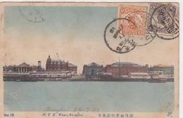 Shanghai - Wharf - 1919      (180616) - Cina