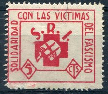 POLITICAS    S.R.I. Solidaridad Con Las Victimas  Sin Charnela-417 - Emisiones Repúblicanas