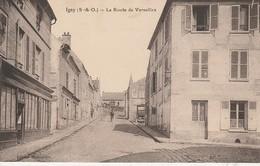 91 - IGNY - La Route De Versailles - Igny