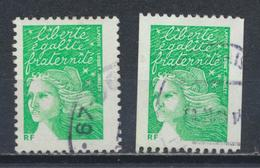 °°° FRANCE 2002 - Y&T N°3535A/B °°° - Used Stamps