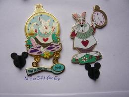 2 Big Pin S Disney CHAT BLANC Neuf - Disney