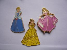 3 Big Pin S PRINCESSE Signer Disney Neuf - Disney