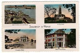 VIET NAM  -  SOUVENIR DE HANOI  -  CPSM 1940/50 - Vietnam