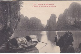 VIET-NAM---TONKIN--le Sphinx Et La Grotte De La Surprise--voir 2 Scans - Viêt-Nam