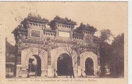 Cina - Pechino - Arco In Porcellana Nel Tempio Di Confucio Ist. Delle Missioni - 1931    (180616) - Missioni