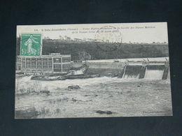 L ISLE JOURDAIN     1922   /   BARRAGE EN CRUES  .........  EDITEUR - L'Isle Jourdain
