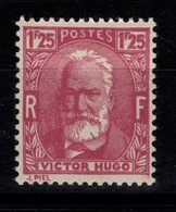 YV 293 N* Victor Hugo Cote 7 Eur - France