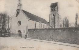 91 - JUVISY - L' Eglise - Juvisy-sur-Orge