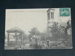 CHATELLERAULT    1910   /   RUES &   MARCHE .........  EDITEUR - Chatellerault