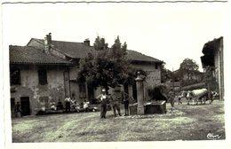 Carte Postale Ancienne De CHALLES-un Coin Du Village - France