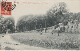 91 - JUVISY - L' Entrée Du Parc, Prise De La Terrasse - Juvisy-sur-Orge