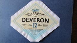 ETIQUETTE SCOTCH WHISKY The DEVERON - Whisky