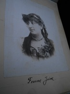 Album N° 1 Photos De 1896 80 Photographies Dont Femme Juive  Paris Boulogne Le Crotoy Calais Granville Jersey Longchamps - Anciennes (Av. 1900)