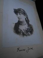 Album N° 1 Photos De 1896 80 Photographies Dont Femme Juive  Paris Boulogne Le Crotoy Granville Jersey Longchamps GAR1 - Photos