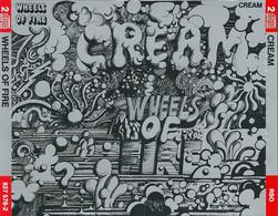 CREAM - WHEELS OF FIRE - 2 CD VERSION - Rock