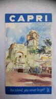Capri Italie Touristique - Tourism Brochures