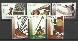 NETHERLANDS ANTILLES  ANTILLEN 2005  MUSIC INDSTRUMENTS  SET MNH - Antillen