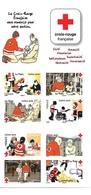 """FRANCE: Bande Carnet """"auto Adhésifs"""" 2016 """"La Croix Rouge Frnaçaise En Actiion"""" - Postzegelboekjes"""