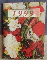 Petit Calendrier De Poche 1999  Fleuriste Tours - 4 Volets - Small : 1991-00