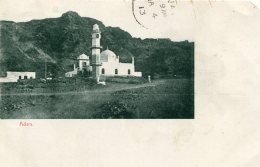 ADEN - Untitled View - Undivided Rear - Christmas Day 1912 Postmark - Indian Stamp - Yemen