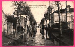 Neuilly Plaisance - Inondation De Janvier 1910 - Avenue Gabrielle - Animée - Phot. Edit. O'LUDWIK Rosny Sous Bois - Neuilly Plaisance