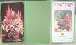 Petit Calendrier De Poche 2000  Fleuriste Vincennes - Small : 1991-00