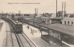 91 - JUVISY - La Plus Grande Gare Du Monde - Juvisy-sur-Orge