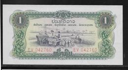 Laos - 1 Kip - Pick N°19A - NEUF - Laos