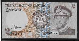 Lesotho - 2 Maloti - Pick N°4a - NEUF - Lesoto