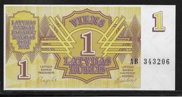 Lettonie - 1 Rubli - Pick N°35 - NEUF - Lettonie
