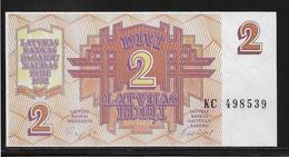 Lettonie - 2 Rubli - Pick N°36 - NEUF - Latvia