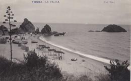 ESPAGNE-----TOSSA DE MAR---la Palma--( Carte-photo TORT )( Peu Courante )--voir 2 Scans - Gerona