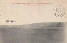 """91 - JUVISY SUR ORGE - """"La Conquête De L' Air"""" """"Le Delagrange"""" En Plein Vol - Juvisy-sur-Orge"""