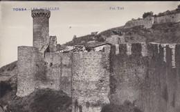 ESPAGNE----RARE---TOSSA DE MAR---les Muralles---( Carte-photo TORT )--voir 2 Scans - Gerona