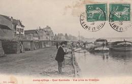 91 - JUVISY SUR ORGE - Quai Gambetta - Vue Prise De Châtillon - Juvisy-sur-Orge