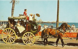 CARTE POSTALE ORIGINALE DE 9CM/14CM : FIESTA TIME IN SANTA BARBARA CALIFORNIA USA - Santa Barbara