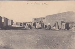 MAROC---CAMP BERTEAUX---le Village--( Peu Courante )--voir 2 Scans - Maroc