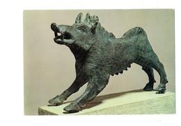 Cpm Musée Saint Germain En Laye - Thème Chasse Sanglier - Laie Gallo-romaine - Bronze - CAHORS Lot - Sculture