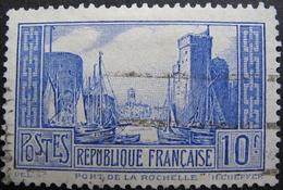LOT R1752/444 - 1929 - PORT DE LA ROCHELLE - N°261b (I) - Cote : 18,50 € - France