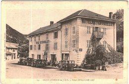 Carte Postale Ancienne De SAINT GERMAIN DE JOUX-Hôtel REYGROBELLET - Autres Communes