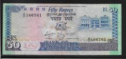 Maurice - 50 Rupees - Pick N°37 - TTB - Mauritius