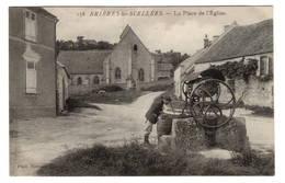 91 ESSONNE - BRIERES LES SCELLE(E)S La Place De L'Eglise (Voir Descriptif) - Autres Communes