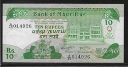 Maurice - 10 Rupees - Pick N°35a - SPL - Mauricio